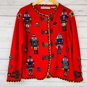 Michael Simon Sweaters - Vintage Michael Simon Nutcracker Sweater